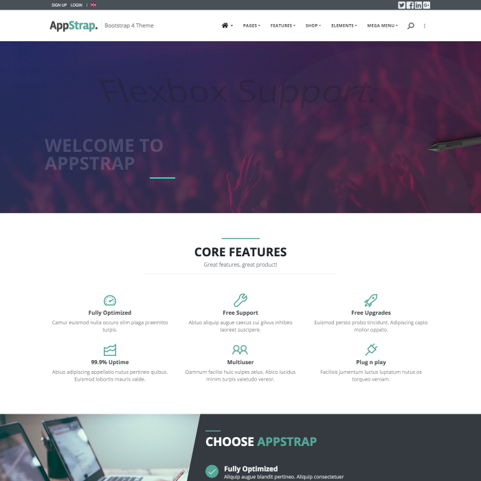 Welcome To AppStrap | AppStrap Bootstrap Theme by Themelize me